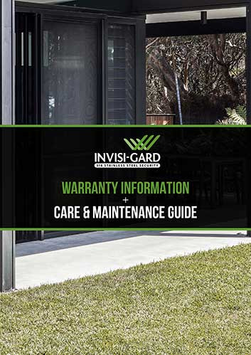 Warranty Information + Care and Maintenance Guide