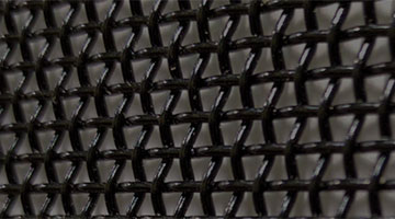 Black stainless steel mesh